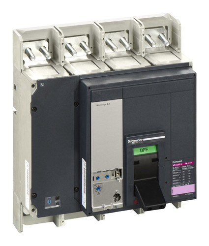 Силовой автомат Schneider Electric Compact NS 1250, Micrologic 2.0, 70кА, 4P, 1250А