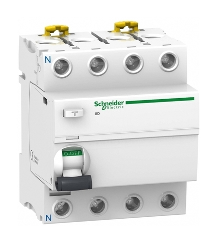 УЗО Schneider Electric Acti9 4P 100А 100мА (AC)