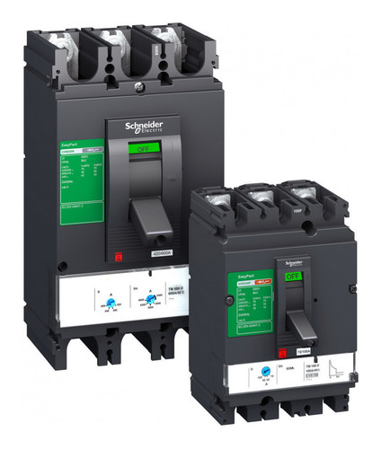 Силовой автомат Schneider Electric EasyPact CVS 400, TM-D, 50кА, 3P, 400А