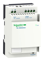 Блок питания ABL8 1-фазный (вход: AC100-240V/DC120-250 выход: DC24V 1.2A)